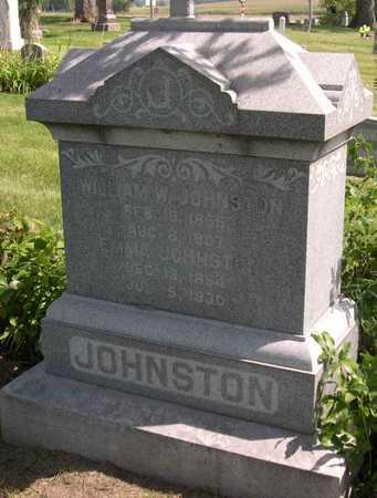 JOHNSTON, WILLIAM W. - Linn County, Iowa | WILLIAM W. JOHNSTON