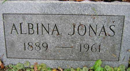JONAS, ALBINA - Linn County, Iowa   ALBINA JONAS