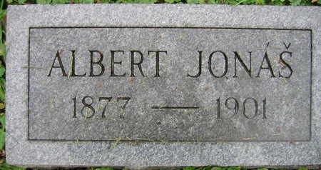 JONAS, ALBERT - Linn County, Iowa   ALBERT JONAS