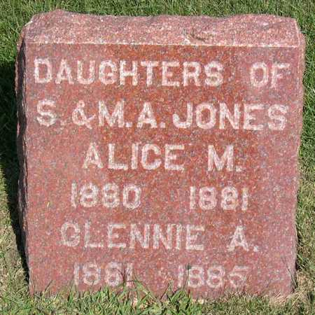 JONES, CLENNIE A. - Linn County, Iowa | CLENNIE A. JONES