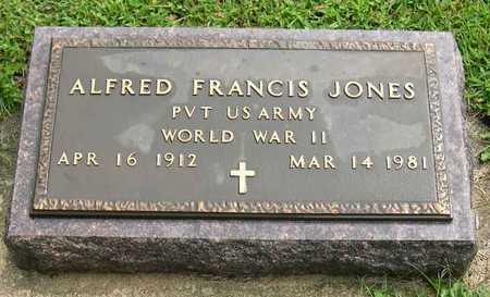 JONES, ALFRED FRANCIS - Linn County, Iowa   ALFRED FRANCIS JONES