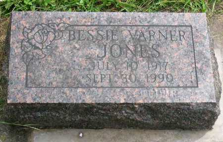 JONES, BESSIE - Linn County, Iowa | BESSIE JONES