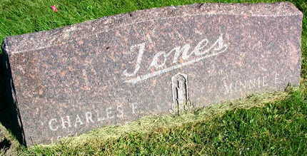 JONES, CHARLES F. - Linn County, Iowa | CHARLES F. JONES