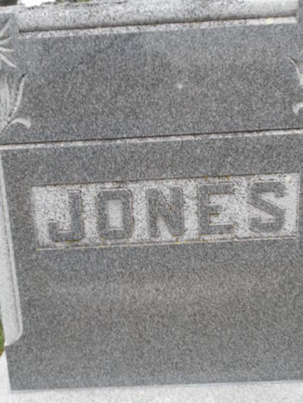 JONES, FAMILY STONE - Linn County, Iowa | FAMILY STONE JONES