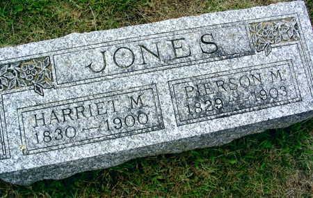 JONES, HARRIET M. - Linn County, Iowa | HARRIET M. JONES
