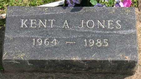JONES, KENT A. - Linn County, Iowa   KENT A. JONES
