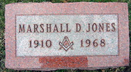 JONES, MARSHALL D. - Linn County, Iowa   MARSHALL D. JONES