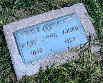 JONES, MARY ANNA - Linn County, Iowa | MARY ANNA JONES