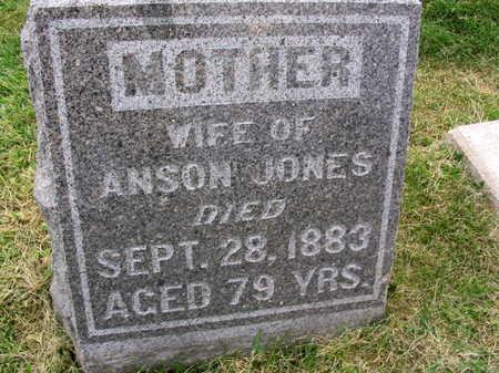 JONES, WIFE OF ANSON - Linn County, Iowa   WIFE OF ANSON JONES