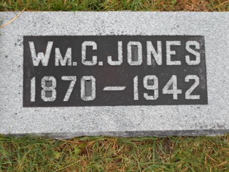 JONES, WM. C.   (WILLIAM C) - Linn County, Iowa | WM. C.   (WILLIAM C) JONES
