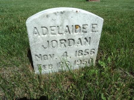 JORDAN, ADELAIDE E. - Linn County, Iowa | ADELAIDE E. JORDAN