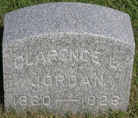JORDAN, CLARENCE L. - Linn County, Iowa | CLARENCE L. JORDAN