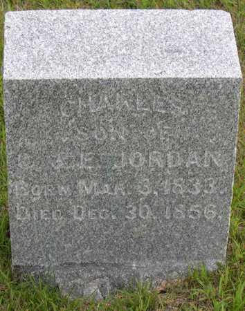 JORDAN, CHARLES - Linn County, Iowa   CHARLES JORDAN
