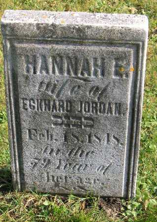 JORDAN, HANNAH E. - Linn County, Iowa | HANNAH E. JORDAN