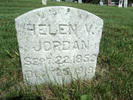 JORDAN, HELEN V. - Linn County, Iowa | HELEN V. JORDAN