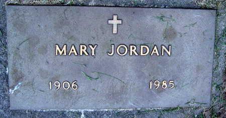 JORDAN, MARY - Linn County, Iowa   MARY JORDAN