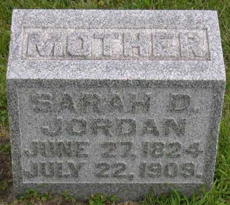 JORDAN, SARAH D. - Linn County, Iowa | SARAH D. JORDAN