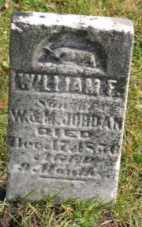 JORDAN, WILLIAM F. - Linn County, Iowa | WILLIAM F. JORDAN