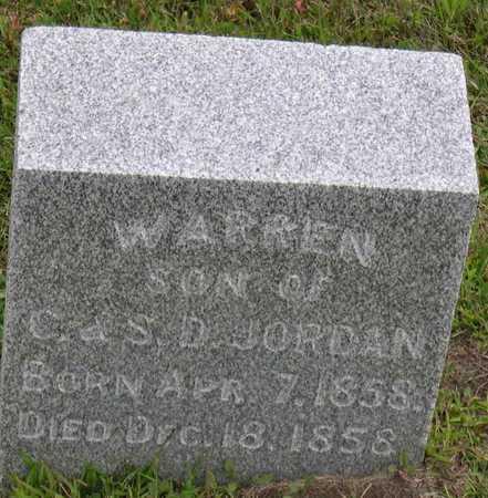 JORDAN, WARREN - Linn County, Iowa | WARREN JORDAN