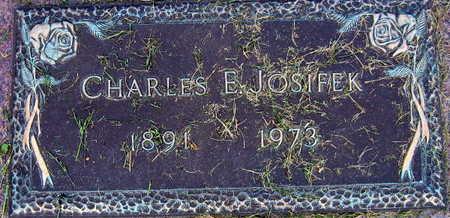 JOSIFEK, CHARLES E. - Linn County, Iowa | CHARLES E. JOSIFEK