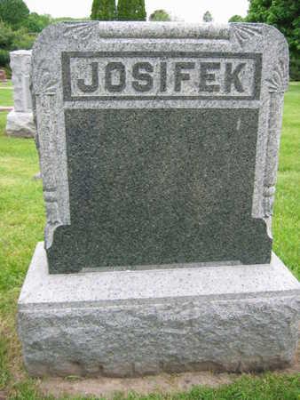 JOSIFEK, FAMILY STONE - Linn County, Iowa | FAMILY STONE JOSIFEK