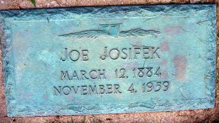JOSIFEK, JOE - Linn County, Iowa | JOE JOSIFEK