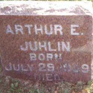 JUHLIN, ARTHUR E. - Linn County, Iowa | ARTHUR E. JUHLIN