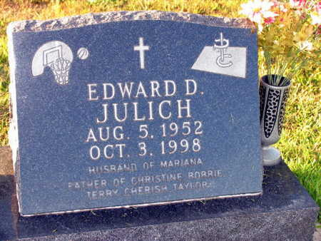 JULICH, EDWARD D. - Linn County, Iowa | EDWARD D. JULICH