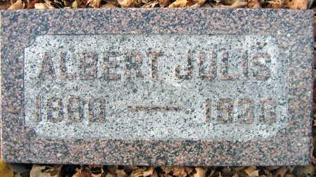 JULIS, ALBERT - Linn County, Iowa | ALBERT JULIS