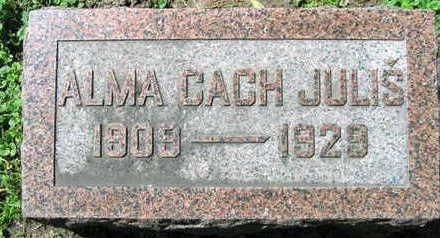 CACH JULIS, ALMA - Linn County, Iowa | ALMA CACH JULIS