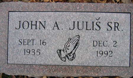JULIS, JOHN A., SR. - Linn County, Iowa | JOHN A., SR. JULIS