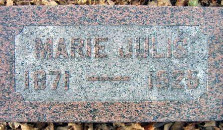 JULIS, MARIE - Linn County, Iowa | MARIE JULIS