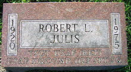 JULIS, ROBERT L. - Linn County, Iowa | ROBERT L. JULIS