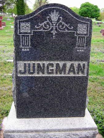 JUNGMAN, FAMILY STONE - Linn County, Iowa   FAMILY STONE JUNGMAN