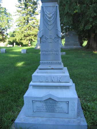 JUNK, ADDIE MABEL - Linn County, Iowa | ADDIE MABEL JUNK