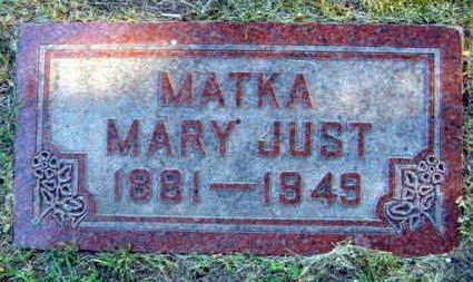 JUST, MARY - Linn County, Iowa | MARY JUST