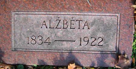 KACER, ALZBETA - Linn County, Iowa | ALZBETA KACER