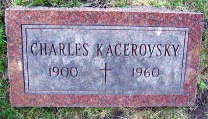 KACEROVSKY, CHARLES - Linn County, Iowa   CHARLES KACEROVSKY