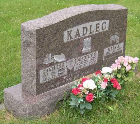 KADLEC, DOROTHY S. - Linn County, Iowa   DOROTHY S. KADLEC