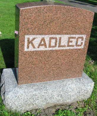 KADLEC, FAMILY STONE - Linn County, Iowa | FAMILY STONE KADLEC