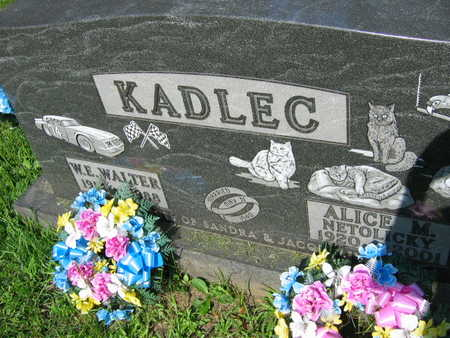 KADLEC, ALICE M. - Linn County, Iowa | ALICE M. KADLEC