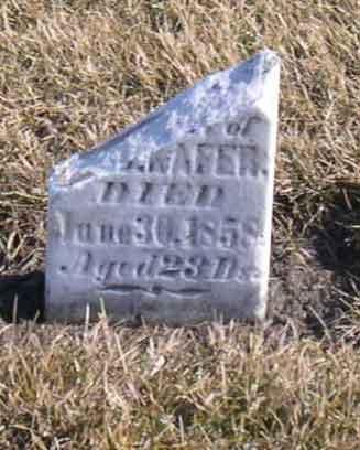 KAFER, UNKNOWN - Linn County, Iowa | UNKNOWN KAFER