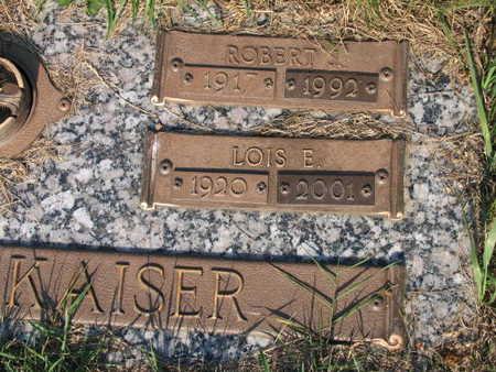 KAISER, LOIS E. - Linn County, Iowa | LOIS E. KAISER