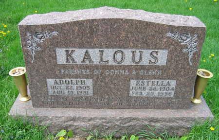 KALOUS, ADOLPH - Linn County, Iowa | ADOLPH KALOUS