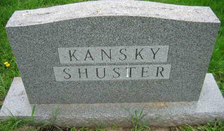 KANSKY SHUSTER, FAMILY STONE - Linn County, Iowa | FAMILY STONE KANSKY SHUSTER