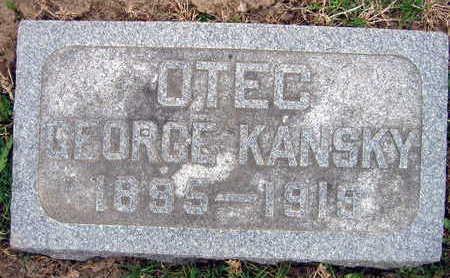 KANSKY, GEORGE - Linn County, Iowa | GEORGE KANSKY