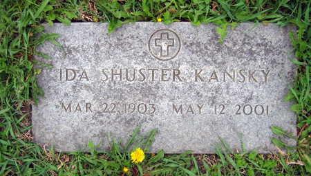 SHUSTER KANSKY, IDA - Linn County, Iowa | IDA SHUSTER KANSKY
