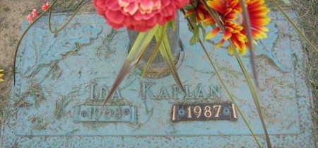 KAPLAN, IDA - Linn County, Iowa   IDA KAPLAN
