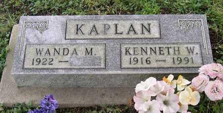 KAPLAN, KENNETH W. - Linn County, Iowa | KENNETH W. KAPLAN