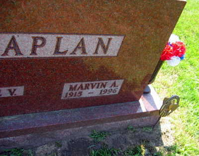 KAPLAN, MARVIN A. - Linn County, Iowa | MARVIN A. KAPLAN